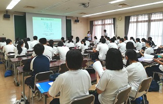 2年医療・福祉コース天竜実習